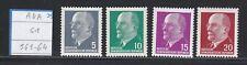 Allemagne RDA 1961 561-64 ** Président Walter Ulbricht