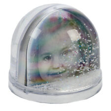Dorr Extra Large Christmas Snow Globe With Glitter Photo Frame