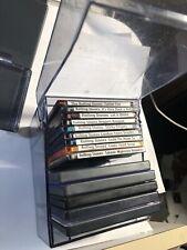 TDK Plastic Minidisc MD media storage 10 disc box  Clear