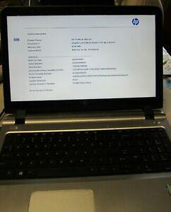 HP ProBook 450 G3 i5-6200U, 2.30Ghz, 8GB RAM, Screen Crack Partially, For Parts