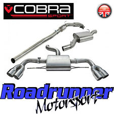 Cobra Sport Audi TTS MK2 2.0 Turbo Back Exhaust Resonated & Sports Cat Downpipe
