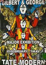 Gilbert and George Signed Exhibition Poster