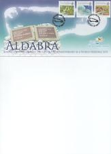 Seychelles - 2007 Atollo di Aldabra FDC 25.mo Sito mondiale UNESCO inusuale rara