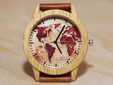 World wrist watch, imitation wooden watch, men's watch, unique watch
