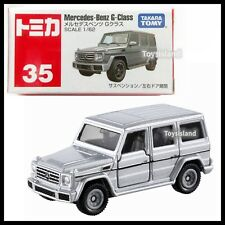TOMICA #35 Mercedes-Benz G-Class 1/62 TOMY 2018 FEB NEW Model Diecast Car Silver