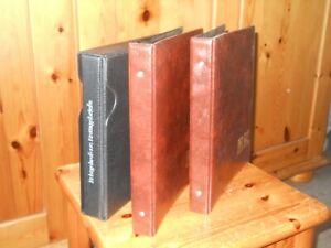 3 Ersttagsbrief FDC Alben  verschiedene Modelle gebraucht mit Hüllen ohne FDC