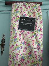 """Laura Ashley--Supreme Velvet Throw--50""""x 70""""--Kenton Ditsy--Pink/Lime/White--New"""