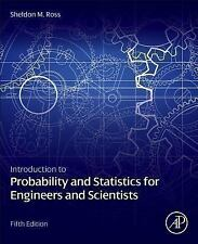 INTRODUCTION TO PROBABILITY AND STATISTICS FOR - SHELDON M. ROSS (HARDCOVER) NEW