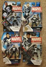 "Marvel Universe PUNISHER 3.75"" Action Figure lot  4 figures MOC 013 004 020 015"