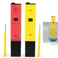 1x Digital pen PH Meter Tester Pocket Aquarium Pool Water Wine Urine LCD Tester