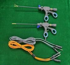 2pc Laparoscopic Bipolar Sealer Cutter With Cable 5mmx170mm Surgical Instruments