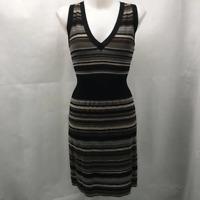 Missoni Black Striped Dress Medium