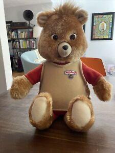 Vtg Teddy Ruxpin Bear Doll 1985 Worlds Wonder Grubby Cassette Tape FOR PARTS?