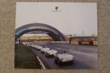 1955 Porsche 550 24 Hours of Le Mans Showroom Advertising Poster RARE!! Awesome