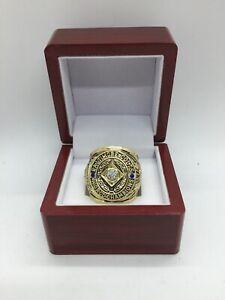 1958 Baltimore Colts Johnny Unitas Championship Ring with Wooden Display Box
