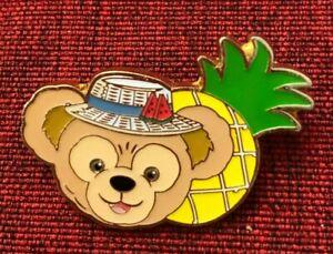 disney trading Pin 135651 SDR Summer Seaside Mystery Duffy bear pineapple hat