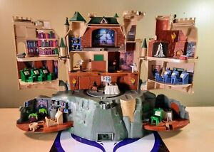 HARRY POTTER ELECTRONIC HOGWART'S SCHOOL PLAYSET 2001 MATTEL #2