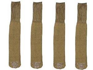 G.i. Style Olive Drab Tube Socks-U.s. Made-Choice Of 2 Pairs,3 Pairs Or 4 Pairs