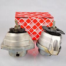 2x FEBI 24530 24531 Motorlager Motorhalter BMW 5 E60 6E63 E64 vorne beidseitig