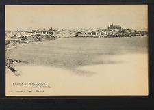 2281.-PALMA DE MALLORCA.-1313 Vista general (Tarjeta Postal sin División)