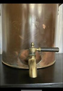 Vintage Copper Tea Hot Water Samovar Urn