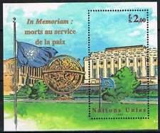 Nations Unies - Geneve postfris 1999 MNH blok 12 - Herdenking Gevallenen