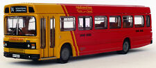 17704 EFE rosso lungo LEYLAND NAZIONALE Mark II BUS MIDLAND VOLPE 1:76