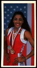 Olympic Challenge 1992 #21 Florence Griffith-Joyner Brooke Bond Tea Card (C277)