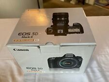 Canon EOS 5D Mark II digital SLR camera with EF24-105mm new lens. Never used.
