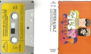 = bc MC Kassette Pfeffer und Salz Harry Frey und Max Mauel - Colonia Records