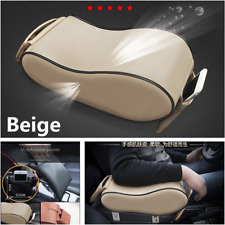 Beige Car Console Central Universal Protective Decoration Support Armrest Pad