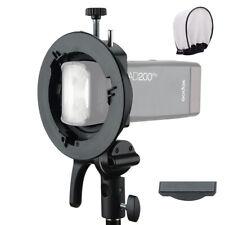 Godox S2 Bowens Mount Flash S-type Holder Bracket for Godox V1 AD200 AD400PRO
