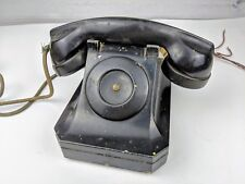 Vintage Stromberg-Carlson Black Old Telephone Model 1244