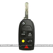 OEM Factory Flip Switchblade Key Keyless Remote Fob For Volvo Worn Blade 862556