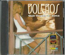 Boleros Que Llegan Al Alma Latin Music CD