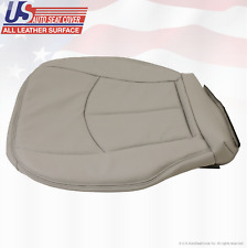2006 2007 Mercedes-Benz E350 Driver Bottom Seat Cover Perforated Leather Gray