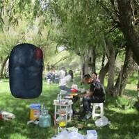 Portable Mesh Ditty Bag Outdoor Nylon Compression Sleeping Stuff Storage Bag KV