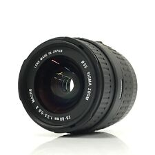 SIGMA Macro 28-80mm f/3.5-5.6 Ⅱ Lens For Canon From Japan - EXC+5 [TK]