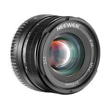 Neewer 35mm F1,2 enfoque manual fijo Prime APS-C Lente de Aluminio