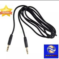 1.5M 3.5mm Jack Male To Male Headphone Extension Aux Cable Extender Audio player