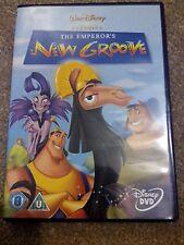 THE EMPEROR'S NEW GROOVE (DVD) (2001) DISNEY UK REGION 2 *NEW*