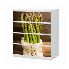 Set Furniture For Ikea Dresser Malm 4 Compartments Spargel Kitchen Film 25B1506