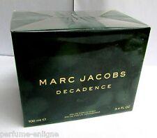 Marc Jacobs DECADENCE 100ml 3.4oz EDP Perfume Spray 100% Original & Sealed *NIB*