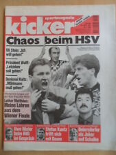 KICKER 43 - 26.5. 1995 * CL-Finale Ajax Amsterdam-AC Mailand 1:0 Chaos beim HSV