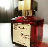 Maison Francis Kurkdjian Baccarat Rouge 540 Extrait de Parfum 2.4fl.oz|70ml, new