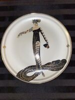 House of Erte- 6 Piece Vintage Franklin Mint Collector's Limited Edition Plates