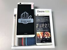 HTC Desire 626 - 16GB - Marine White (AT&T) Smartphone. GSM UNLOCKED. EXCELLENT