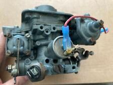 Weber 2 BBL Carburetor, 32DATRA 200 2 BARREL Fiat X 1/9 1979 rebuilt