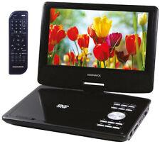 Magnavox Portable DVD CD Player Video Movie Built In Stereo Speaker Modern Black