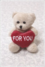 """""""For You"""" Bear Plush Toy With Magnet"""